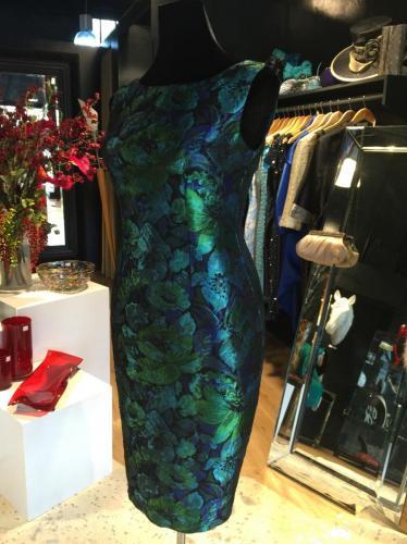 Brocade Ball Dress