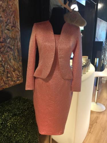 Brocade Audrey Dress & Jacket